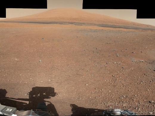 Очередная порция снимков Curiosity с Марса