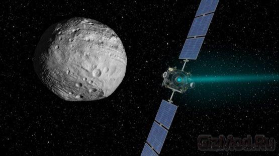 Зонд Dawn перенацелился на Цереру