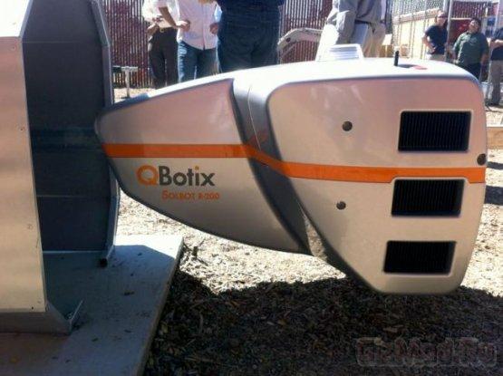 Робот для настройки солнечных панелей