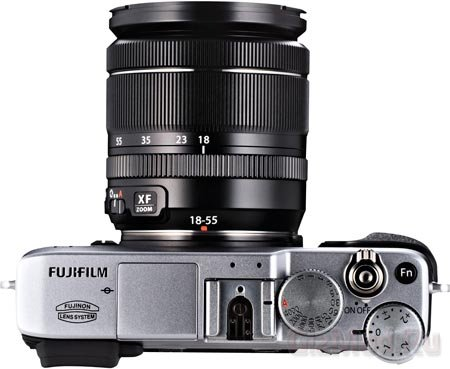 16 Мп беззеркалка FUJIFILM X-E1
