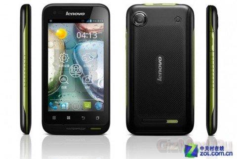 Пылевлагозащищенный смартфон Lenovo A660