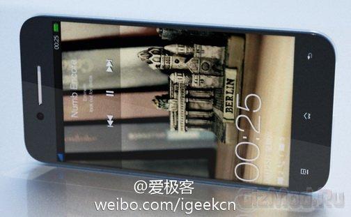 Full HD-дисплей в смартфоне Oppo Find5 X990