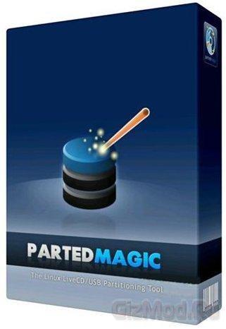 Parted Magic 2013.01.29 - утилита для работы с HDD