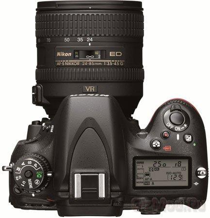 Полнокадровая зеркалка Nikon D600