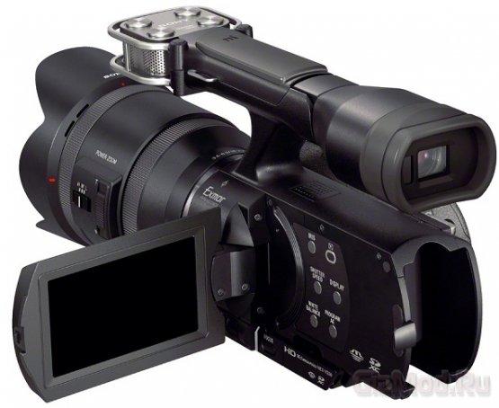 Камеры Sony NEX-VG30H и NEX-VG900 официально