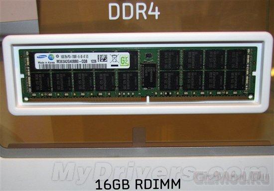 Модуль памяти DDR4-2133 16 Гб представлен Samsung
