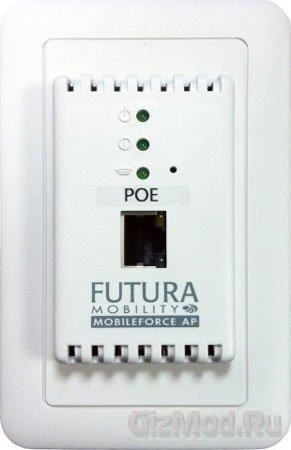MobileForce AP - беспроводная точка доступа в стене
