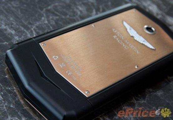 Смартфон Aston Martin под управлением Android
