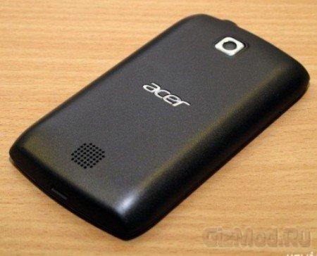Готовится двусимочный Acer Z110