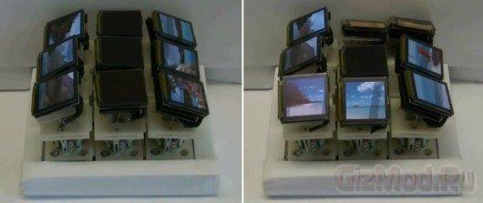 Tilt Display - фасеточный экран с 3D амбициями