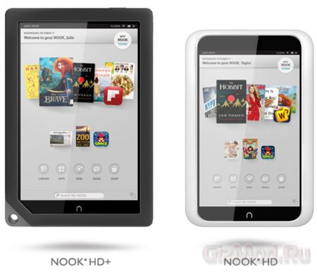 Barnes & Noble представила планшеты NOOK HD