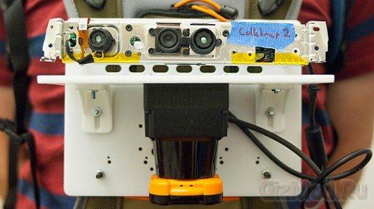 Сканер для создания 3D-карт помещений