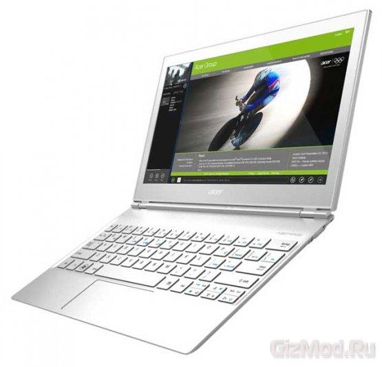 Acer Aspire S7 - ультрабук на Windows 8 с ценой $1200