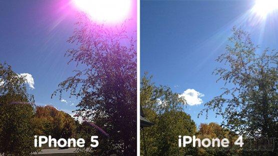 Apple назвала дефект камеры iPhone 5 нормальным