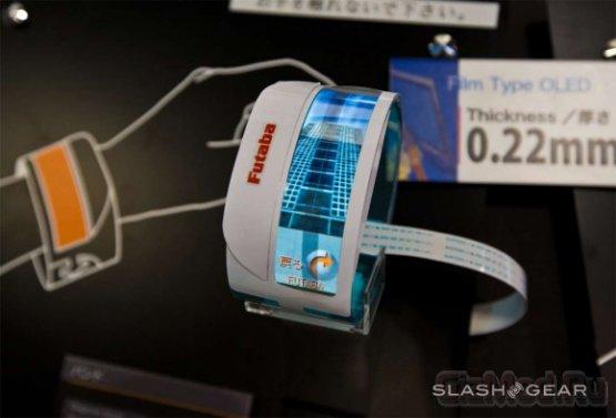Futaba показала гибкий OLED-браслет