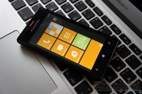 Подробности о смартфоне Alcatel One Touch View на WP