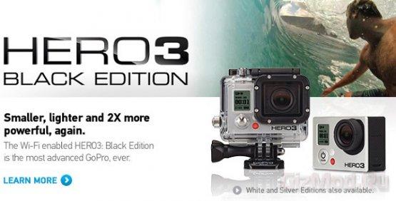 Разрешение до 4K в экстрим-камере GoPro Hero3