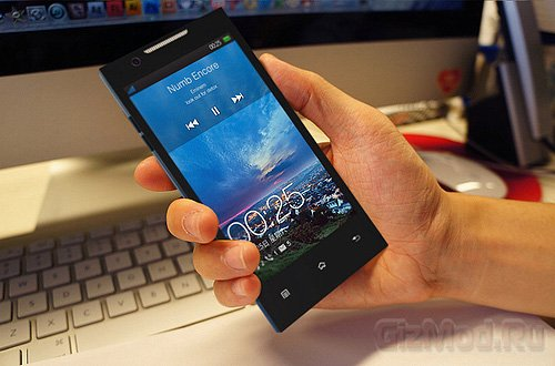 "5"" Full HD дисплей в смартфоне Oppo Find 5"