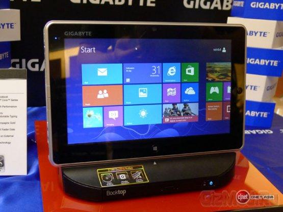 GIGABYTE установила Celeron в планшет S1082