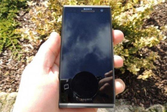 Sony Xperia Odin C650X на шпионском фото