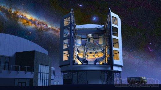 Гиганское зеркало для гиганского телескопа
