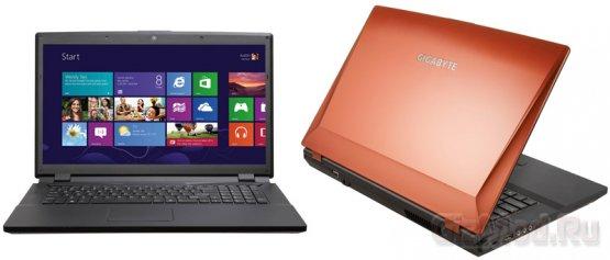 GIGABYTE P2742G - игровой ноутбук Windows 8