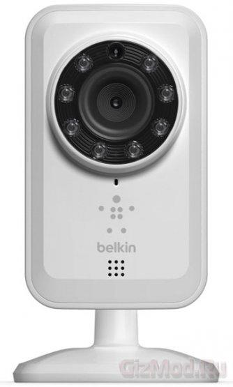 Web-камера Belkin NetCam видит в темноте