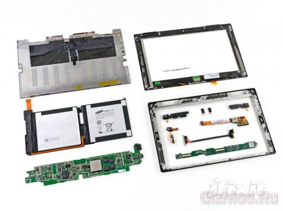 iPad менее оказался ремонтопригоден чем Surface