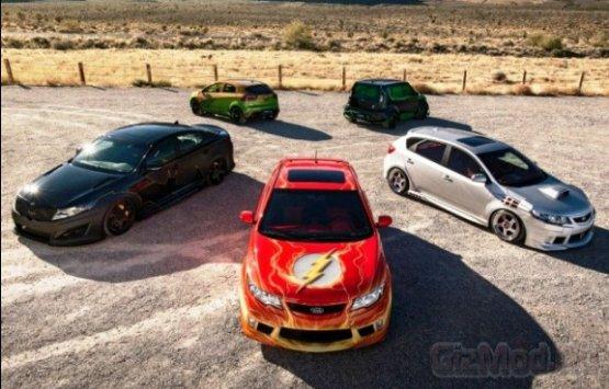 Автомобили Лиги правосудия
