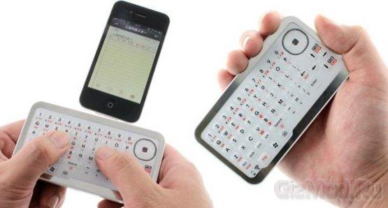 Карманная Bluetooth-клавиатура с тачпадом