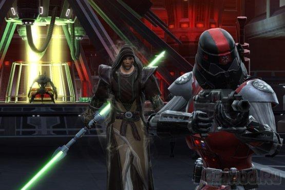 Условно-бесплатная Star Wars: The Old Republic