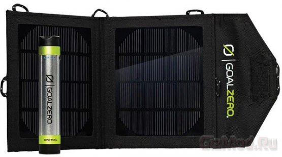 Switch 8 Solar Recharging Kit подзарядит ваш гаджет