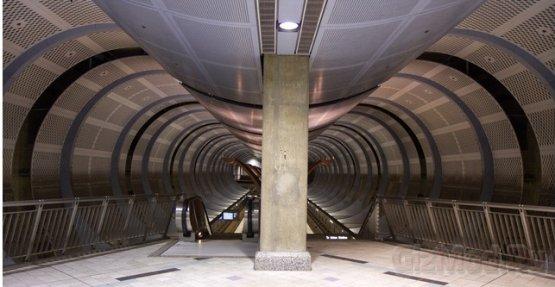 Кинетическая энергия в метро