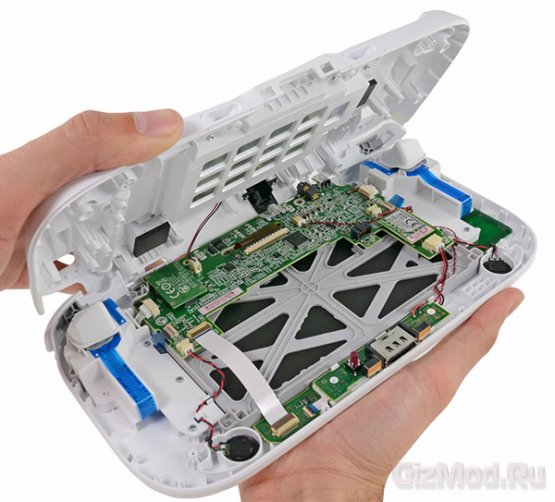 Специалисты iFixit вскрыли Nintendo Wii U