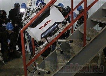 """Робот Toshiba поможет """"разобраться"""" с Фукусимой-1"""