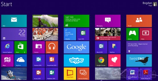 Windows 8 не радует