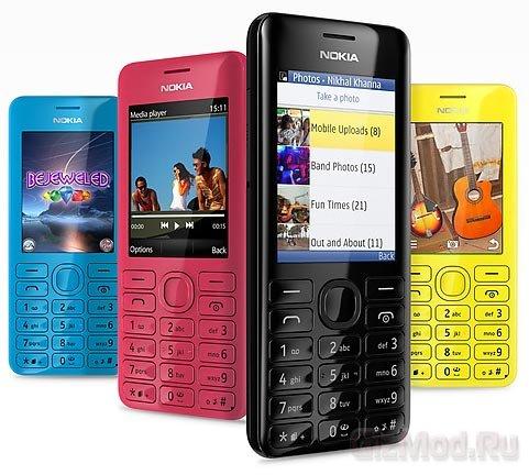 Nokia выпустила телефоны Asha 205 и Nokia 206