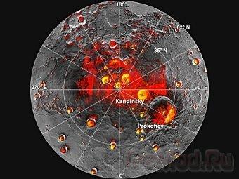Водяной лед на Меркурии