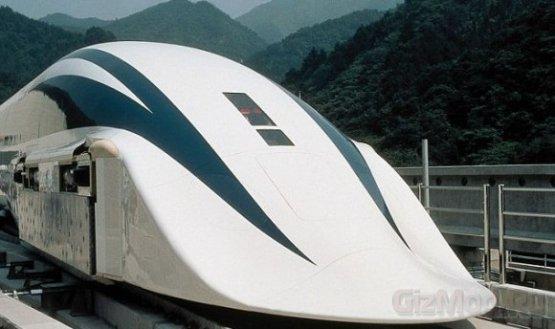 Высокоскоростной японский прототип на магнитной подушке