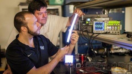 Полимерная лампа не уступает светодиодам