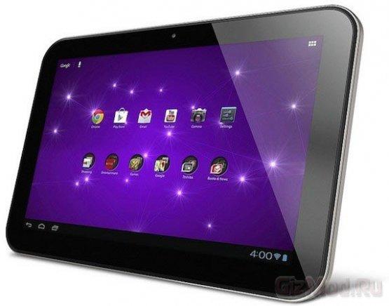 """10"""" планшет Toshiba Excite 10 SE с Android 4.1 за $350"""