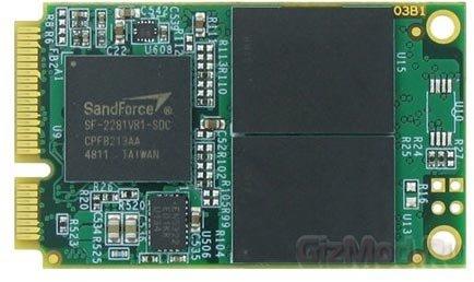 mSATA SSD-накопитель Mushkin объемом 480 ГБ