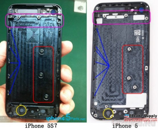 iPhone 5S засветился в Сети