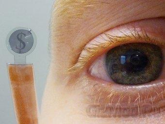 ЖК-дисплей в контактных линзах
