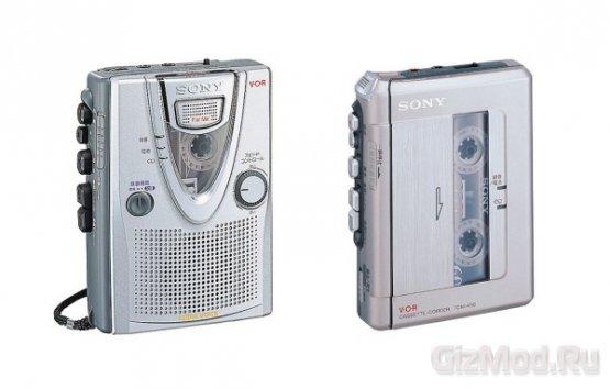 Sony прекращает выпуск кассетных плееров