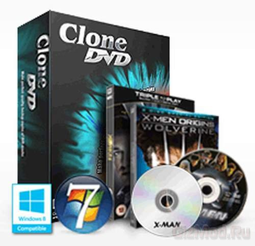 CloneDVD 7.0.0.1 - клонирует диски