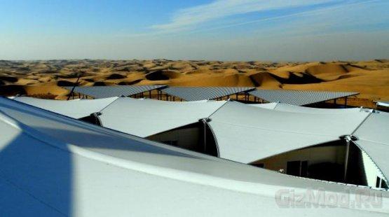 Отель в китайской пустыне