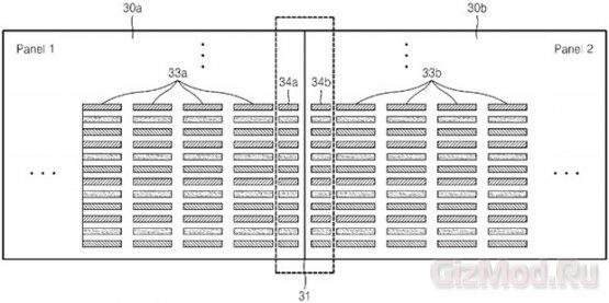 Samsung патентует строение гибкого дисплея