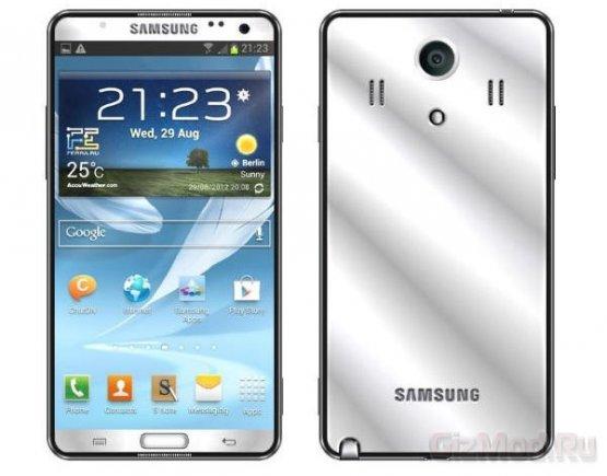 Samsung готовит новый Galaxy Note