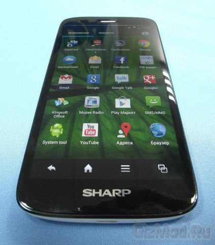 SHARP Aquos Phone SH930W - обзор